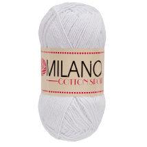 Diva Milano Cotton Sport Beyaz El Örgü İpi-01