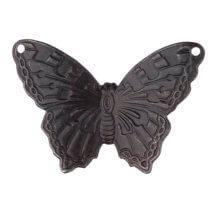 Vintaj 25X33.5mm 1 Adet Taş Kelebek Takı Aksesuarı
