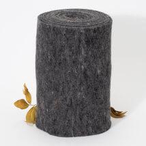 Lehner Wolle 30cmx1m Gri Yün Kumaş Keçe - T30-GR10