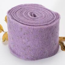 Lehner Wolle 15cmx1m Mor Yün Kumaş Keçe - E15-VI15