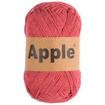Apple Mat Kırmızı Doğal El Örgü İpi