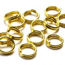 Cousin 100 Adet 6 mm Altın Metal Çift Takı Halkası - 34712158