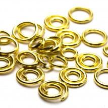 Cousin 400 Adet 4/6 mm Altın Renk Açık Ve Kapalı Takı Halkası - 34712219