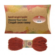 Kendi Rengini Keşfet Rubia( Kırmızı Kök) Organik İplik Boyası No:46