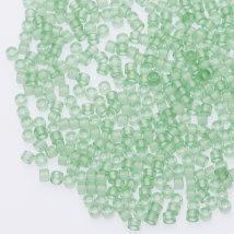 Miyuki Japon Delica 11/0 1 Tüp Transparan Açık Mint Yeşili Boncuk- DB1414 V