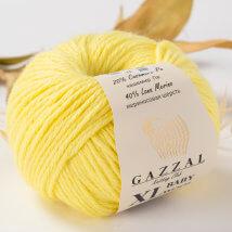 Gazzal Baby Wool XL Sarı Bebek Yünü - 833