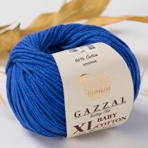 Gazzal Baby Cotton XL Mavi Bebek Yünü -3421
