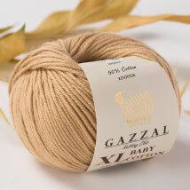Gazzal Baby Cotton XL Bej Bebek Yünü -3424