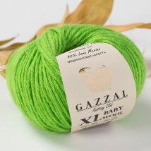 Gazzal Baby Wool XL Yeşil Bebek Yünü -821