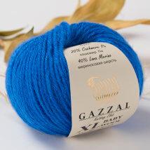 Gazzal Baby Wool XL Mavi Bebek Yünü - 830