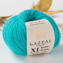 Gazzal Baby Wool XL Mavi Bebek Yünü-832