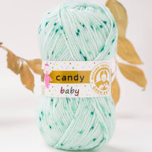 Örenbayan Candy Baby Benekli Bebek Yünü - 362-1897