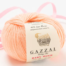 Gazzal Baby Wool Yavruağzı Bebek Yünü - 834