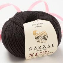 Gazzal Baby Cotton XL Siyah Bebek Yünü - 3433
