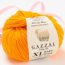 Gazzal Baby Wool XL Turuncu Bebek Yünü - 837