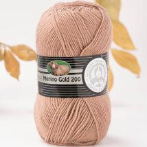 Örenbayan Merino Gold 200 Kahverengi El Örgü İpi - 106-1842