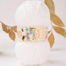 Örenbayan Lux Baby Beyaz El Örgü İpi - 3-3010