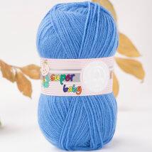Örenbayan Super Baby Mavi El Örgü İpi - 15-1758