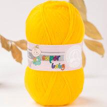 Örenbayan Super Baby Sarı El Örgü İpi - 29-1758