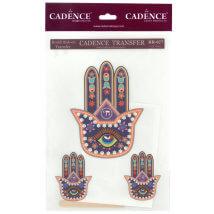 Cadence 17x25cm Fatma'nın Eli Renkli Rubon Transfer Kağıdı - RR27