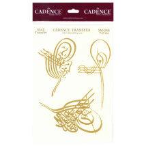 Cadence 13x37cm Tura Simli Transfer Kağıdı - SM046
