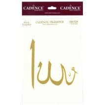 Cadence 13x37cm Allah Simli Transfer Kağıdı - SM024