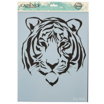 Cadence A4 Boyutunda Kaplan Stencil Şablon - AS454