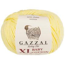Gazzal Baby Cotton XL Sarı Bebek Yünü - 3413