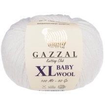 Gazzal Baby Wool XL Beyaz Bebek Yünü - 801