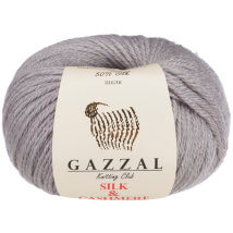 Gazzal Silk&Cashmere Gri Bebek Yünü - 462