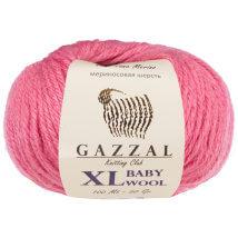 Gazzal Baby Wool XL Pembe Bebek Yünü - 831