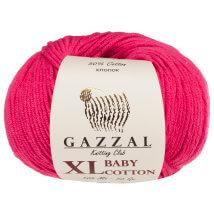 Gazzal Baby Cotton XL Fuşya Bebek Yünü - 3415
