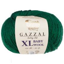 Gazzal Baby Wool XL Yeşil Bebek Yünü - 814