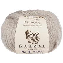 Gazzal Baby Wool XL Gri Bebek Yünü - 817
