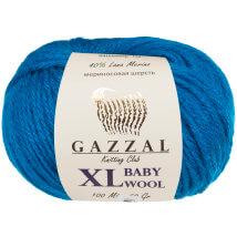 Gazzal Baby Wool XL Mavi Bebek Yünü - 822