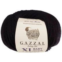 Gazzal Baby Wool XL Siyah Bebek Yünü - 803