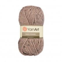YarnArt Tweed Country Kahverengi El Örgü İpi - 335