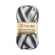 YarnArt Gold Melange Ebruli El Örgü İpi - 9502
