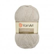 YarnArt Cotton Soft Bej El Örgü İpi - 49