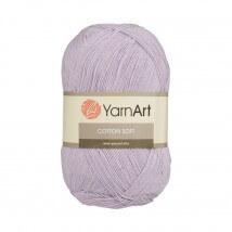 YarnArt Cotton Soft Lila El Örgü İpi - 19