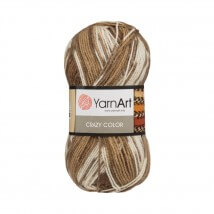 YarnArt Crazy Color Ebruli El Örgü İpi - 139