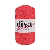 Diva Spaghetti Penye Kumaş Pembe Gri Puantiyeli El Örgü İpi