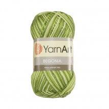 YarnArt Begonia Melange Ebruli El Örgü İpi - 0188