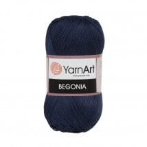 YarnArt Begonia Lacivert El Örgü İpi - 0066