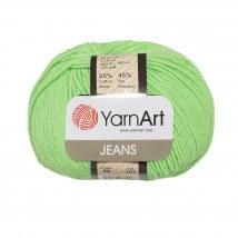 YarnArt Jeans Yeşil El Örgü İpi - 60