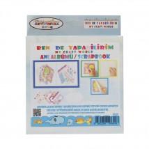 Artebella Artebella Ben de Yapabilirim Scrapbook Anı Albümü Seti - 004