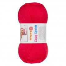 Kartopu Woolly Baby Koyu Pembe Bebek Yünü - K812