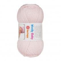 Kartopu Woolly Baby Toz Pembe Bebek Yünü - K699