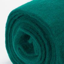 Lehner Wolle 65cmx1m Yeşil Yün Kumaş Keçe - FZ--GU41