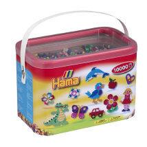 Hama Beads Midi 10.000'lik 10 Renk Kova Boncuk - 202-00